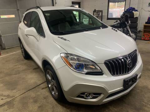 2013 Buick Encore for sale at QUINN'S AUTOMOTIVE in Leominster MA