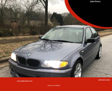2003 BMW 3 Series for sale at Judex Motors in Loganville GA