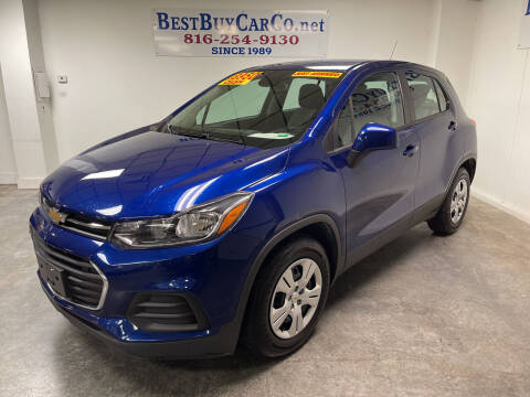 2017 Chevrolet Trax for sale at Best Buy Car Co in Independence MO