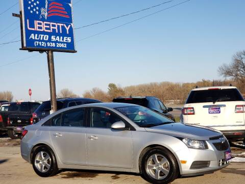 2014 Chevrolet Cruze for sale at Liberty Auto Sales in Merrill IA