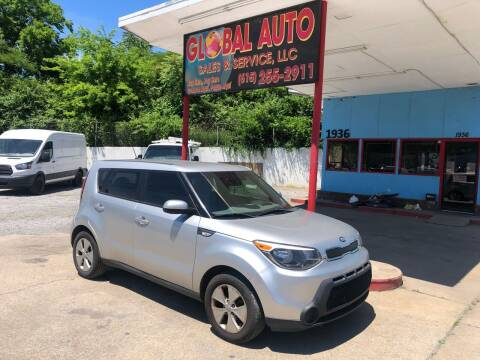 2014 Kia Soul for sale at Global Auto Sales and Service in Nashville TN