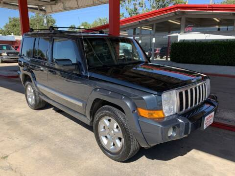 2007 Jeep Commander for sale at KD Motors in Lubbock TX