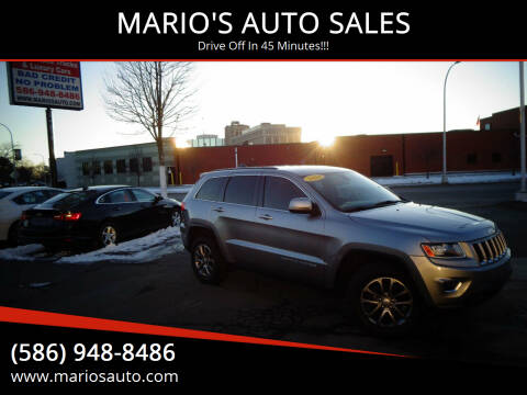 2014 Jeep Grand Cherokee for sale at MARIO'S AUTO SALES in Mount Clemens MI