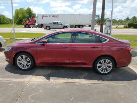 2015 Chrysler 200 for sale at BIG 7 USED CARS INC in League City TX
