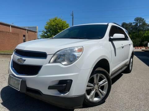 2013 Chevrolet Equinox for sale at Gwinnett Luxury Motors in Buford GA