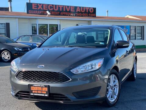 2015 Ford Focus for sale at Executive Auto in Winchester VA