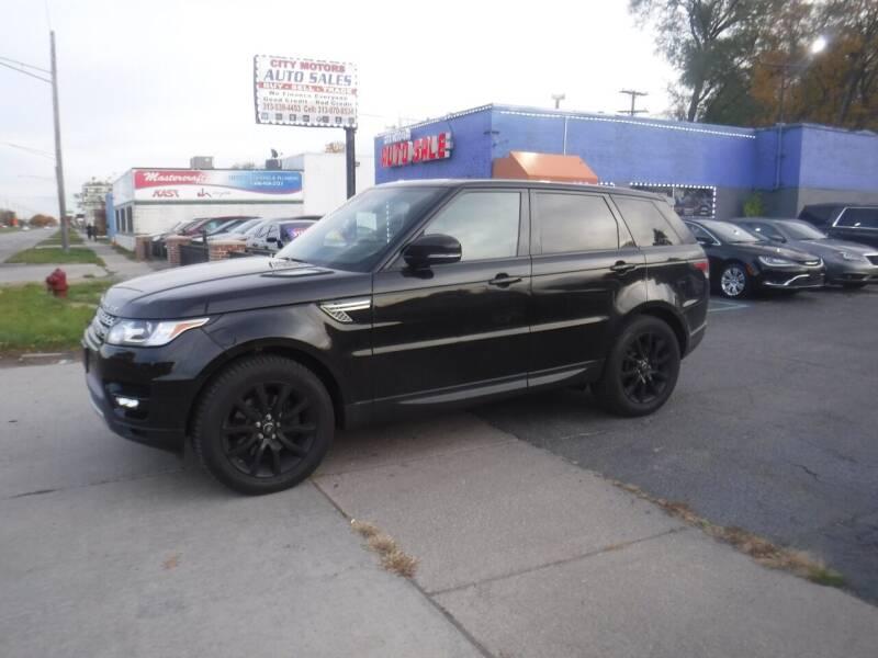 2014 Land Rover Range Rover Sport for sale at City Motors Auto Sale LLC in Redford MI