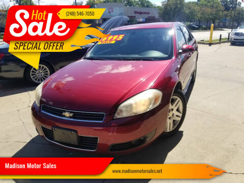 2010 Chevrolet Impala for sale at Madison Motor Sales in Madison Heights MI