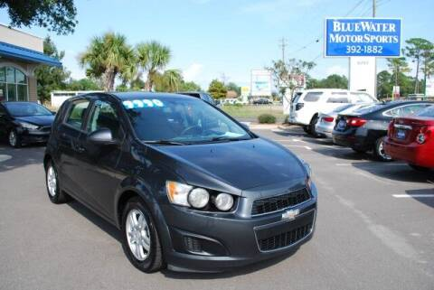 2015 Chevrolet Sonic for sale at BlueWater MotorSports in Wilmington NC