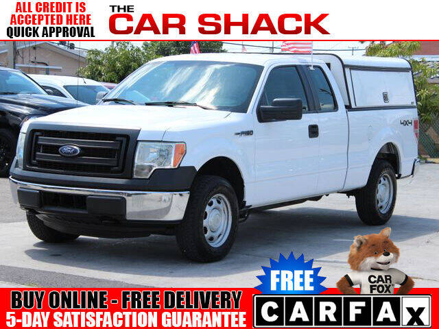 2014 Ford F-150 for sale at The Car Shack in Hialeah FL