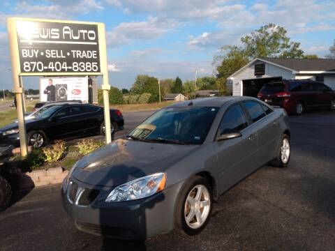 2008 Pontiac G6 for sale at LEWIS AUTO in Mountain Home AR