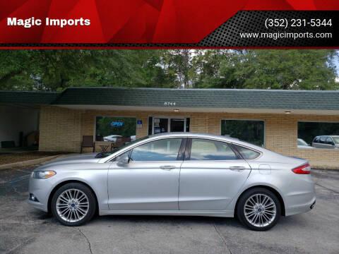 2014 Ford Fusion for sale at Magic Imports in Melrose FL