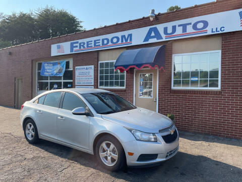 2014 Chevrolet Cruze for sale at FREEDOM AUTO LLC in Wilkesboro NC
