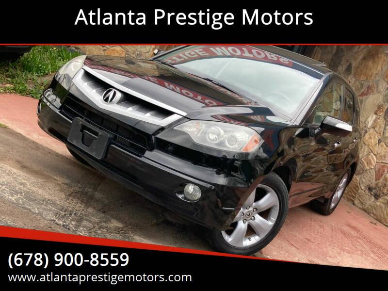 2009 Acura RDX for sale at Atlanta Prestige Motors in Decatur GA