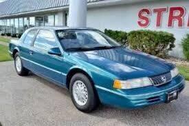 1993 Mercury Cougar for sale at Cj king of car loans/JJ's Best Auto Sales in Troy MI