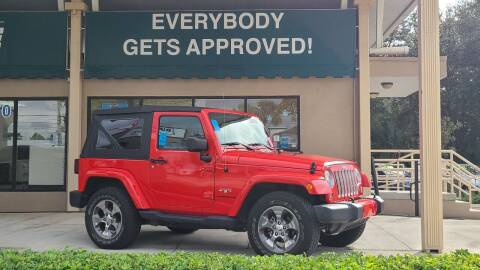 2017 Jeep Wrangler for sale at Dunn-Rite Auto Group in Longwood FL