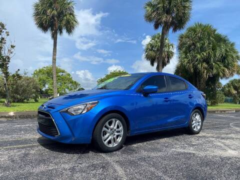2017 Toyota Yaris iA for sale at Lamberti Auto Collection in Plantation FL