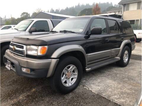 2000 Toyota 4Runner for sale at Chehalis Auto Center in Chehalis WA