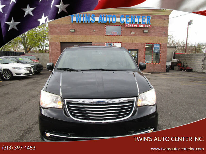 2013 Chrysler Town and Country for sale at Twin's Auto Center Inc. in Detroit MI