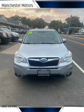 2014 Subaru Forester for sale at Manchester Motors in Manchester CT