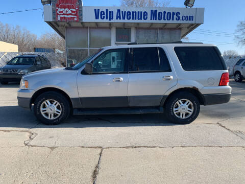 2004 Ford Expedition for sale at Velp Avenue Motors LLC in Green Bay WI