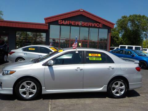 2011 Toyota Corolla for sale at Super Service Used Cars in Milwaukee WI