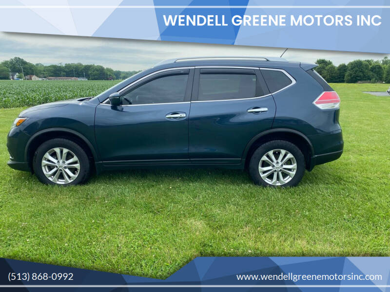 2016 Nissan Rogue for sale at Wendell Greene Motors Inc in Hamilton OH