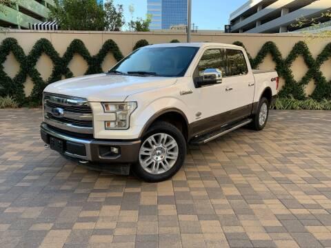 2017 Ford F-150 for sale at ROGERS MOTORCARS in Houston TX
