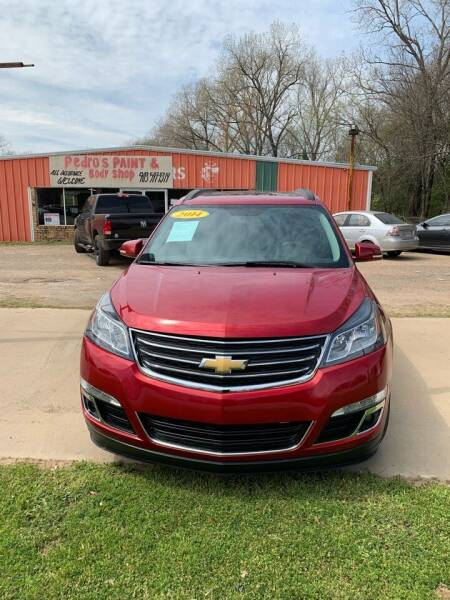 2014 Chevrolet Traverse for sale at MENDEZ AUTO SALES in Tyler TX