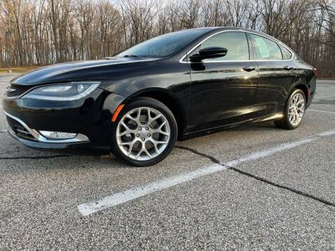 2015 Chrysler 200 for sale at Lifetime Automotive LLC in Middletown OH