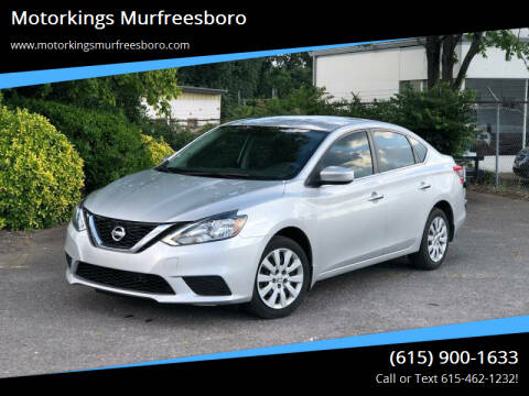 2017 Nissan Sentra for sale at Motorkings Murfreesboro in Murfreesboro TN