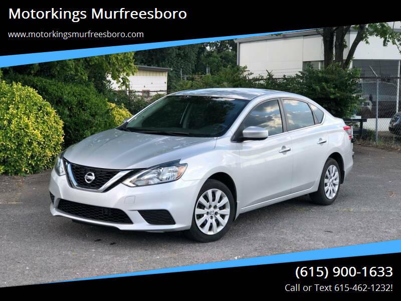2017 Nissan Sentra for sale at Motorkings Murfreesboro in Murfreesboro TN