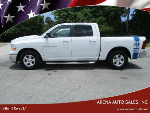2011 RAM Ram Pickup 1500 for sale at ARENA AUTO SALES,  INC. in Holly Hill FL