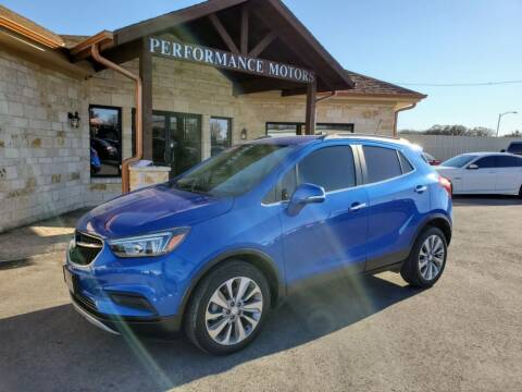 2018 Buick Encore for sale at Performance Motors Killeen Second Chance in Killeen TX