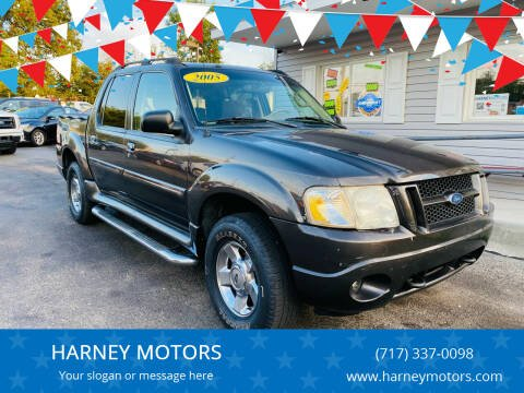2005 Ford Explorer Sport Trac for sale at HARNEY MOTORS in Gettysburg PA