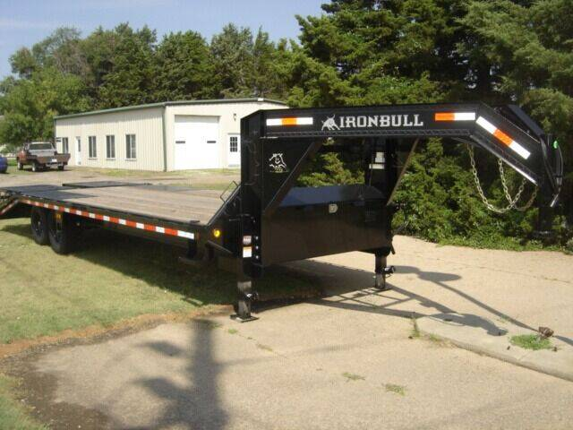 2021 25 FT  IRON BULL GN for sale at Midwest Trailer Sales & Service in Agra KS