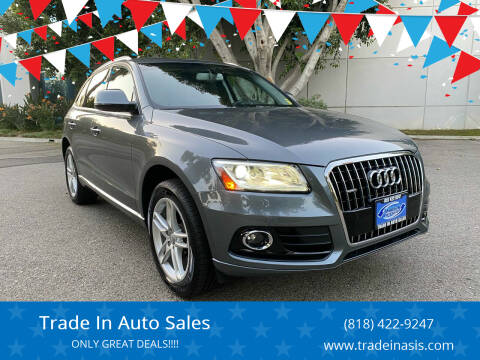 2016 Audi Q5 for sale at Trade In Auto Sales in Van Nuys CA
