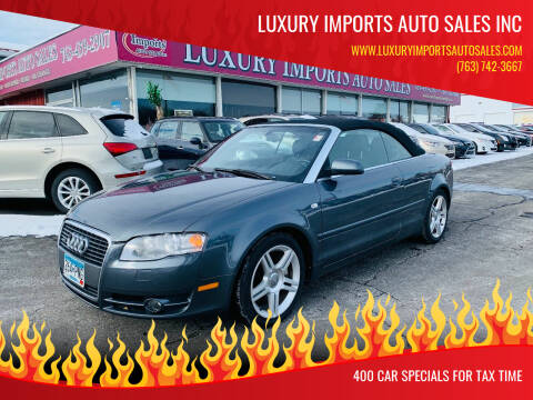 2007 Audi A4 for sale at LUXURY IMPORTS AUTO SALES INC in North Branch MN