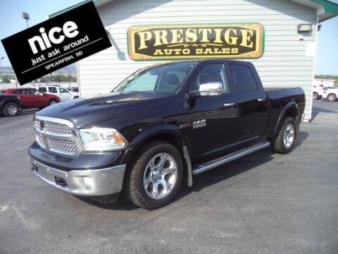2015 RAM Ram Pickup 1500 for sale at PRESTIGE AUTO SALES in Spearfish SD