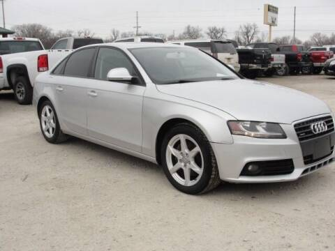 2009 Audi A4 for sale at Frieling Auto Sales in Manhattan KS