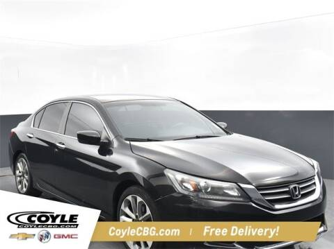 2014 Honda Accord for sale at COYLE GM - COYLE NISSAN - New Inventory in Clarksville IN