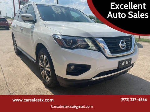 2018 Nissan Pathfinder for sale at Excellent Auto Sales in Grand Prairie TX
