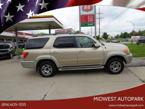 2004 Toyota Sequoia for sale at Midwest Autopark in Kansas City MO