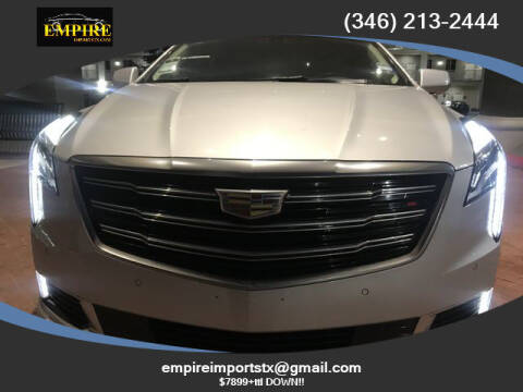 2018 Cadillac XTS for sale at EMPIREIMPORTSTX.COM in Katy TX