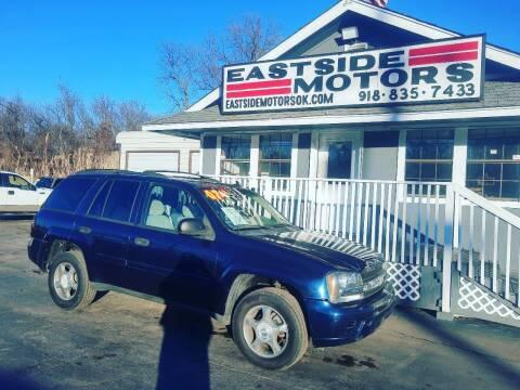 2007 Chevrolet TrailBlazer for sale at EASTSIDE MOTORS in Tulsa OK