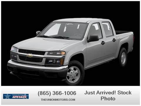 2007 Chevrolet Colorado for sale at Union Motors in Seymour TN