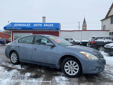 2011 Nissan Altima for sale at Gonzalez Auto Sales in Joliet IL