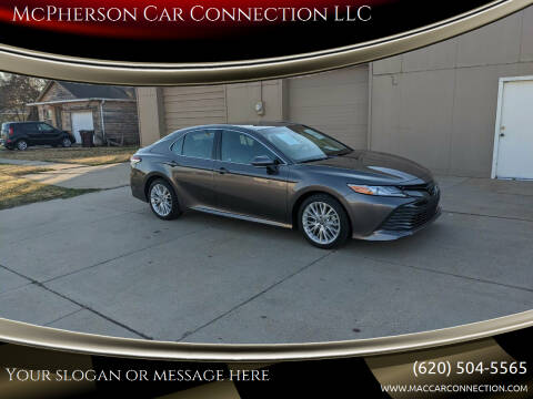 2018 Toyota Camry for sale at McPherson Car Connection LLC in Mcpherson KS