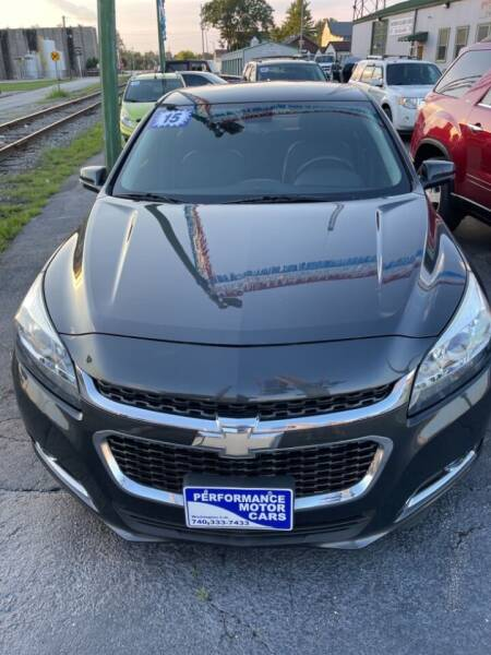 2015 Chevrolet Malibu for sale at Performance Motor Cars in Washington Court House OH