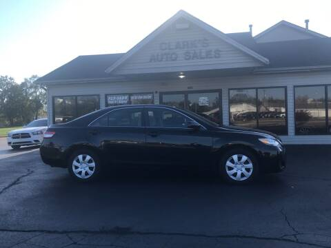 2010 Toyota Camry for sale at Clarks Auto Sales in Middletown OH